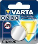 VARTA KNOPFZELLE 3.0 V  CR2025