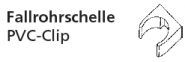 CLIP-ROHRSCHELLE  DN 50   GRAU