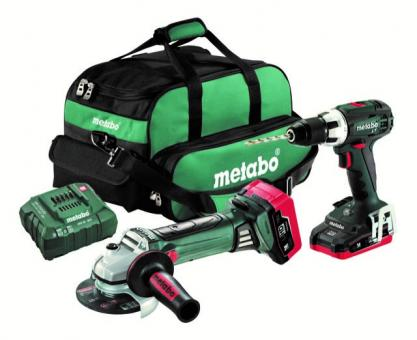 Metabo Combo BS18LT + W18LTX Werkzeugtasche