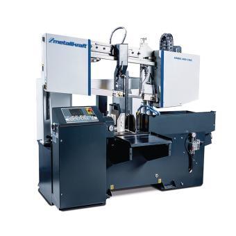 Metallkraft Vollautomatische Zwei-Säulen-Horizontal-Metallbandsäge HMBS 400 CNC